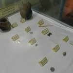 Some artifacts go to the Yozgat museum.  This is its small display dedicated to Çadır Höyük.