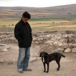 Dogs in rural Anatolia are working animals first, pets second. Zeytin here is a hunting dog.
