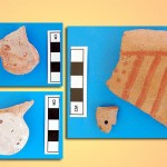 These sherds are some of the artifacts that we found that date to the Bronze Age/Iron Age transition.