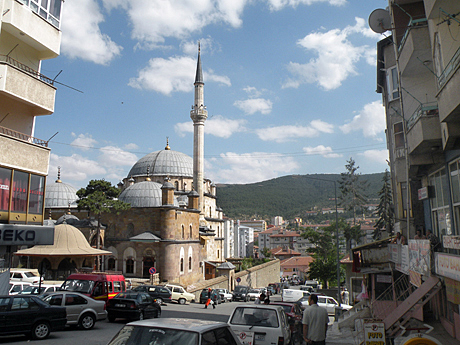 We usually visit the province capital on business, but it does have a museum and some Ottoman buildings.