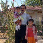 Hüseyin lives with his family at the dig house year-round, keeping beautiful, stray-cow-free grounds.