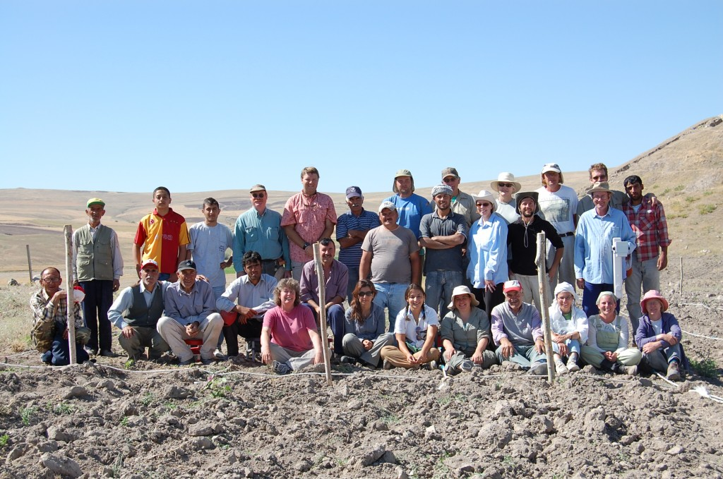 The 2008 Excavation Team